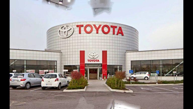 10 for Toyota motor corporation address