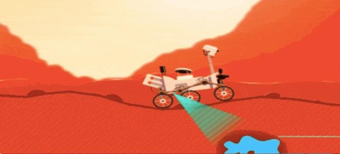 لعبة مجانية أطلقتها ناسا للإحتفال بعيد ميلاد المركبة كيريوستي الرابع ( قم بتجربتها )