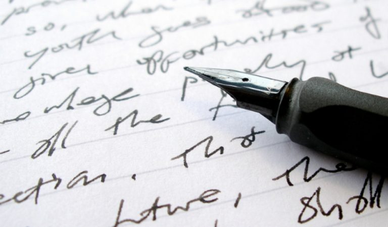 خَطك فى الكتابة يُعبر عن شخصيتك !