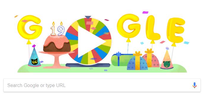 15 معلومة عن جوجل في عيد ميلادها ال 19