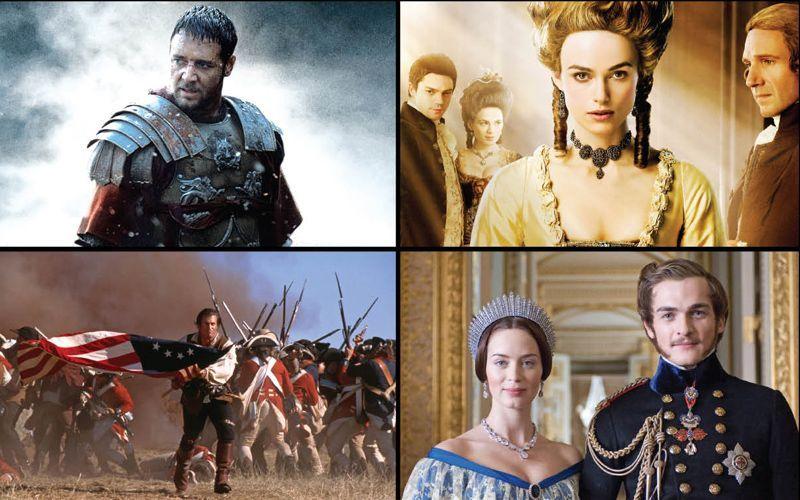 أشهر أفلام تاريخية