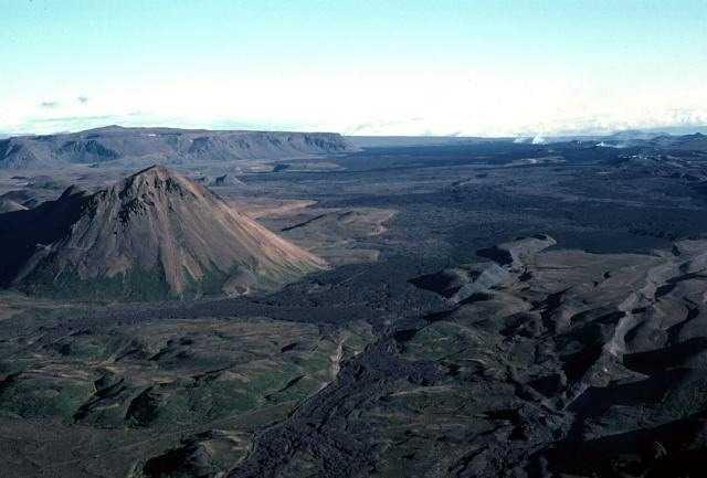 الحقول البركانية