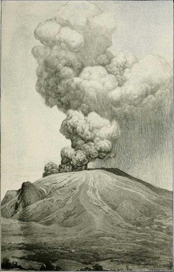 ثوران جبل بيليه سنة 1902