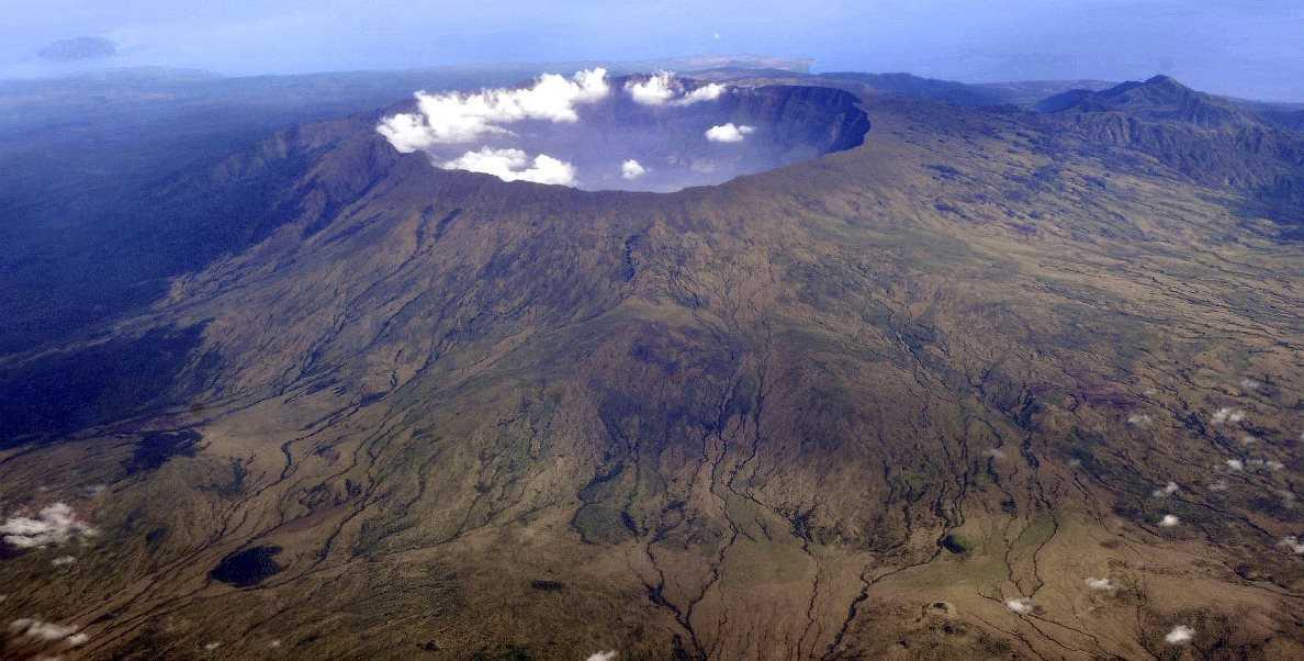 ثوران جبل تامبورا سنة 1815 - البراكين