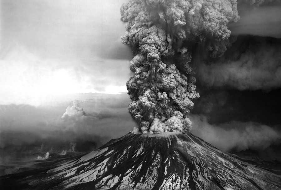 ثوران جبل سانت هيلينز سنة 1980