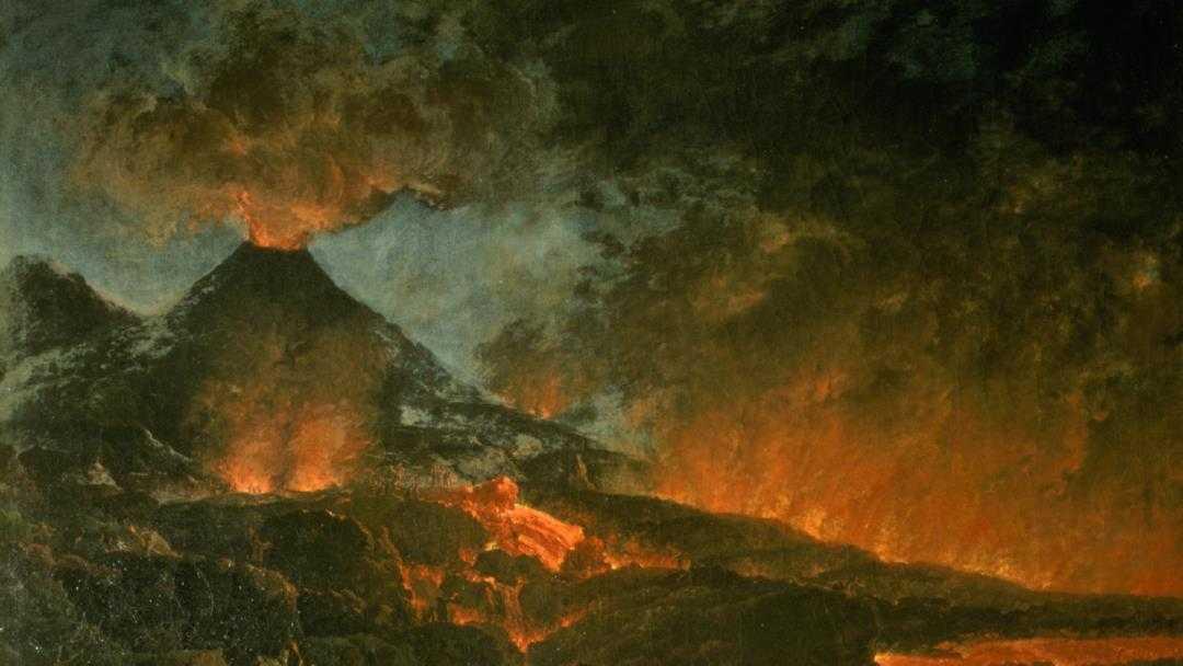 ثوران جبل فيزوف سنة 79
