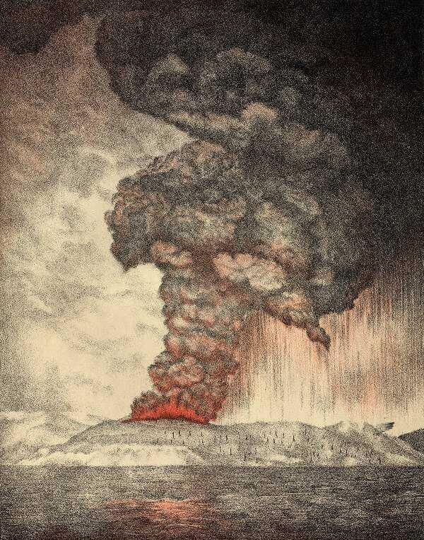 ثوران كراكاتو سنة 1883