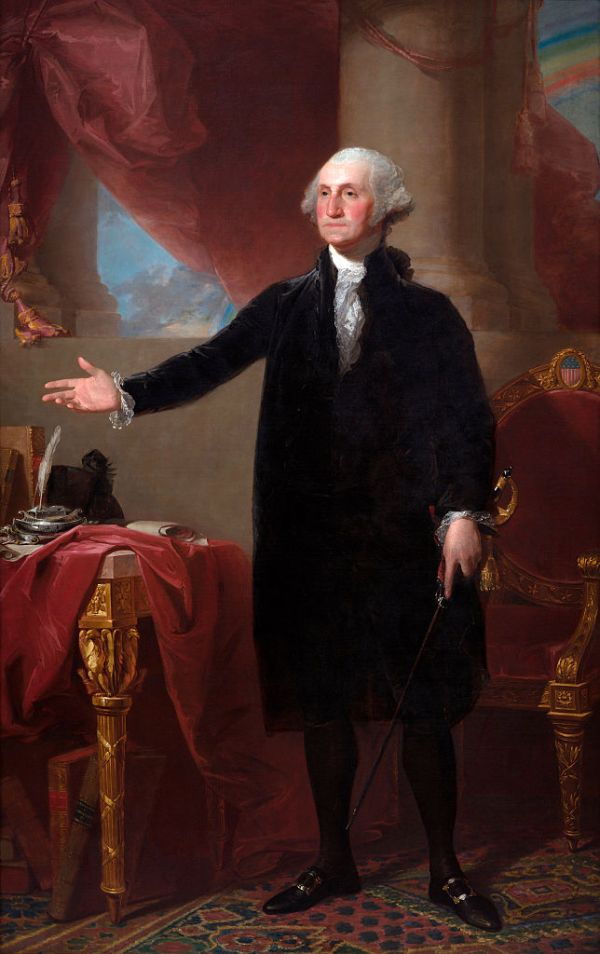 محطات رئيسية في حياة جورج واشنطن